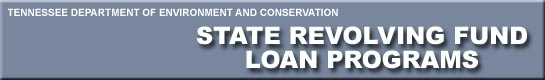State Revolving Loan Fund Header links back to State Revolving Loan Fund Home